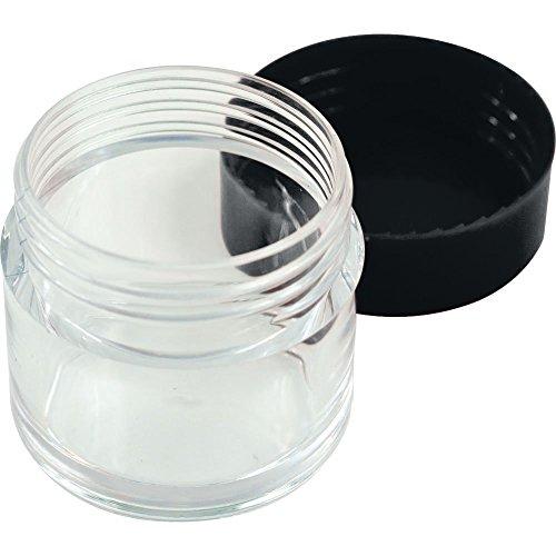 30ml Jar With Black Lid