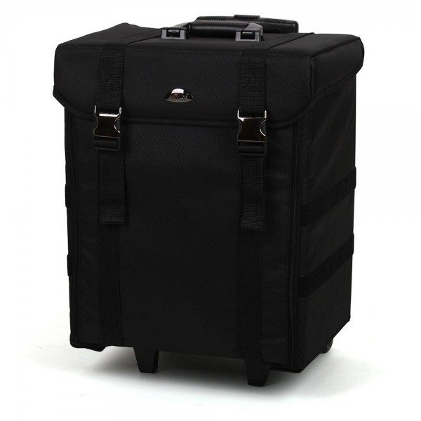Soft Sided Pro Makeup Trolley with Drawers