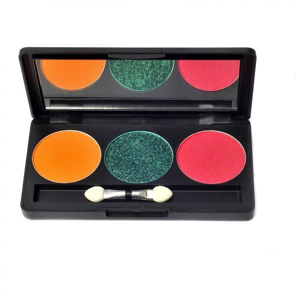 3 Colour Empty Eyeshadow Palette