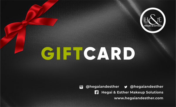gift card for Makeup by Hegai & Esther