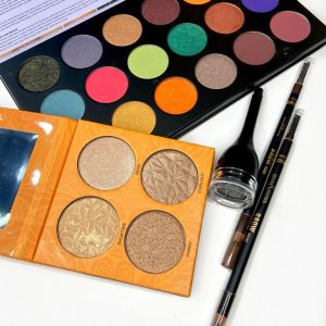 Gel Eyeliner, 2 Brow Pow, Eyeshadow Palette, Flash Pan